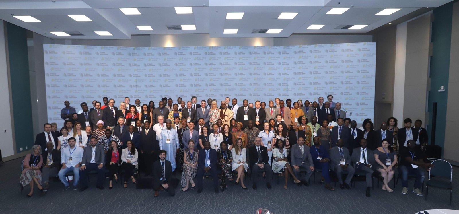6º Fórum Brasil África, em Salvador, Novembro de 2018